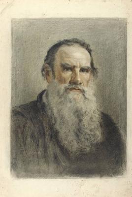 Александр Никитич Парамонов. Портрет Л.Н. Толстого. 1941