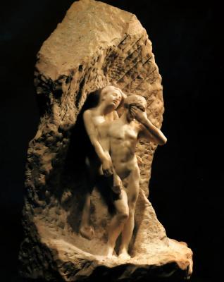 Огюст Роден. Орфей и Эвридика