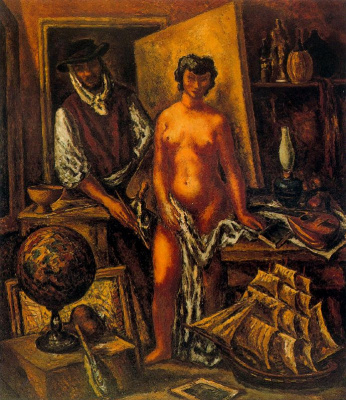 Arturo Souto. Master and naked girl