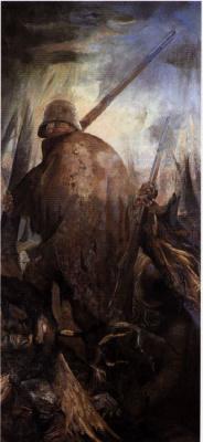 Otto Dix. Trench warfare