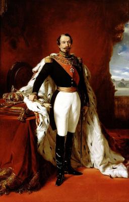 Франц Ксавер Винтерхальтер. Наполеон III, император Франции