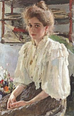 Valentin Aleksandrovich Serov. Maria Lvova
