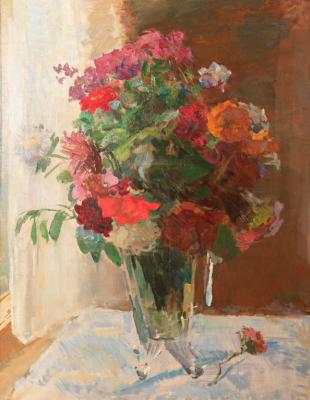 Sergey Vasilyevich Gerasimov. Bouquet of flowers