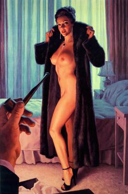 Грег Хильдебрандт. Девушка и трубка