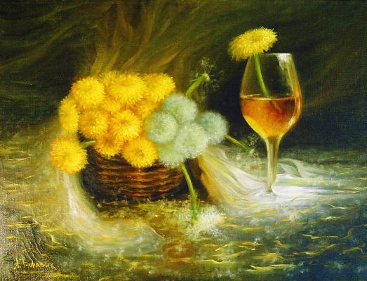 Andrei Ivanovich Boravik. Wine from dandelion