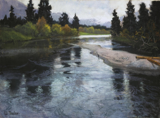 Frits Thaulow. River