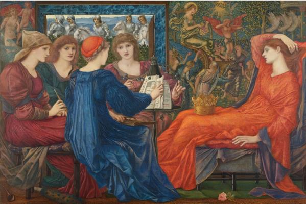 Edward Coley Burne-Jones. Praise Friday