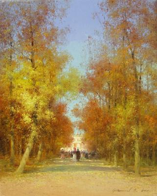 Vasily Ivanovich Gribennikov. Alley
