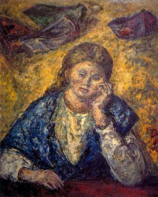Arturo Souto. Sad woman