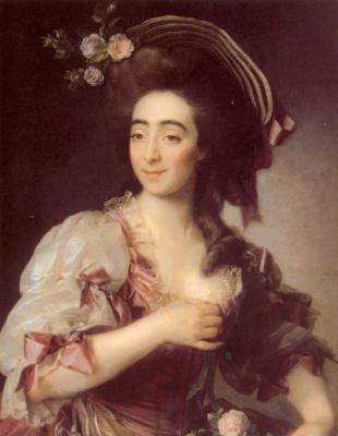 Dmitry Grigorievich Levitsky. Portrait Of Anna Davia, Bernuzzi