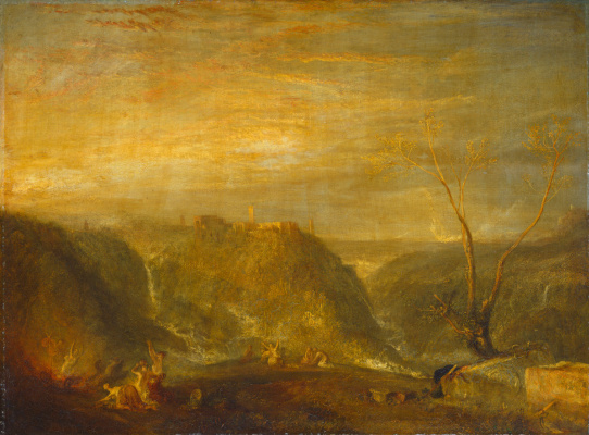 Joseph Mallord William Turner. The Abduction Of Proserpine