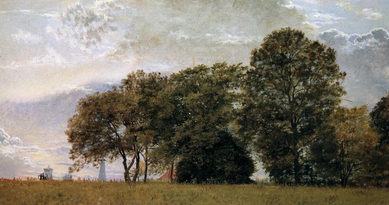 Кристен Кобк. Пейзаж