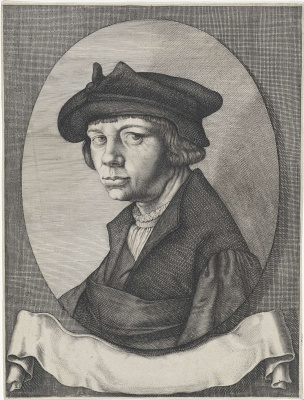 Lucas van Leiden (Luke of Leiden). Self-portrait
