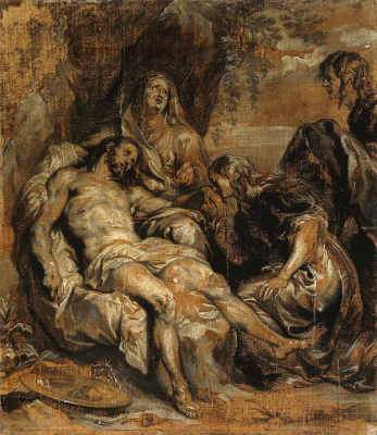 Anthony van Dyck. Lamentation Of Christ