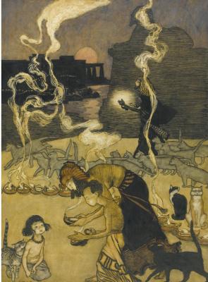 Arthur Rackham. Egypt