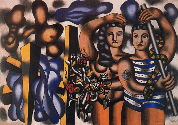Fernand Leger. Adam and eve