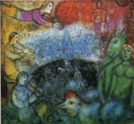 Marc Chagall. The big parade