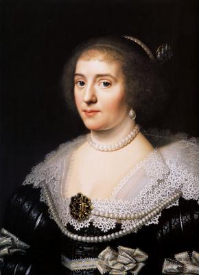 Gerard van Honthorst. Amalia Solms