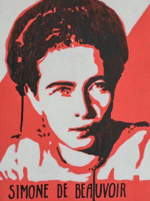 Татьяна Антошина. Simone de Beauvoir