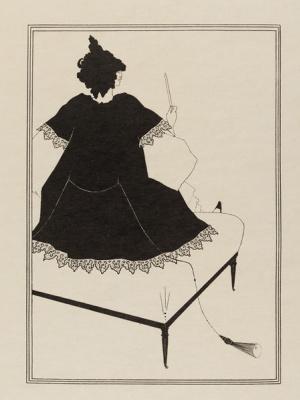 Aubrey Beardsley. Seated Salome