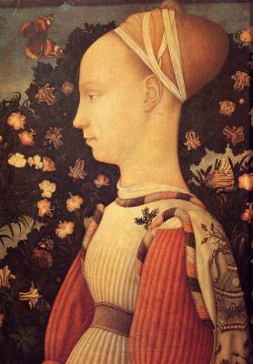 Антонио Пизанелло. Портрет Жиневы