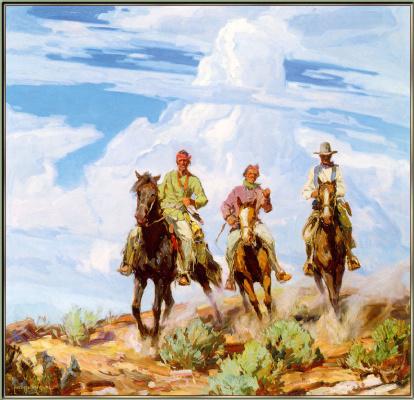 Карл Оскар Борг. Сыны пустыни