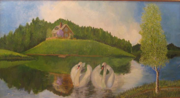 Pavel Markovich Osherov. Swans