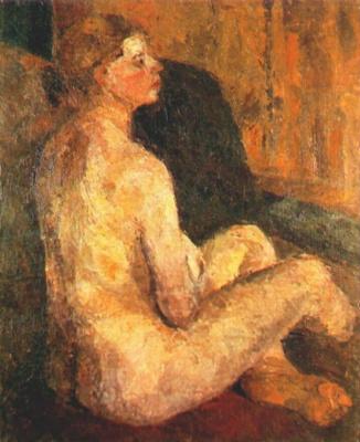 Ева Павловна Левина-Розенгольц. Обнаженная женщина
