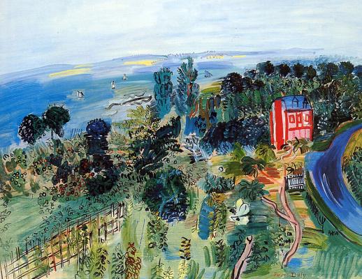 Raoul Dufy. Sailboats