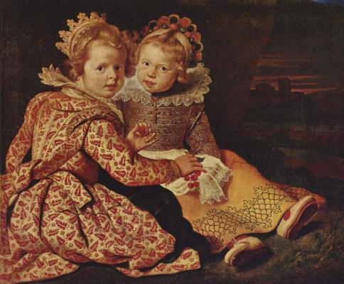Cornelis de Vos. Daughter of the artist