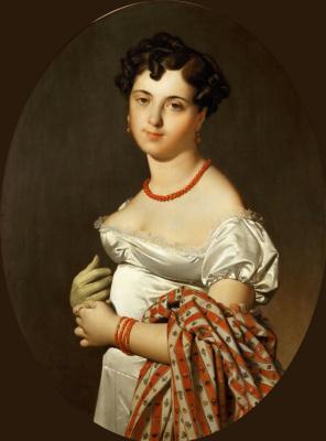 Jean Auguste Dominique Ingres. Madame Panky