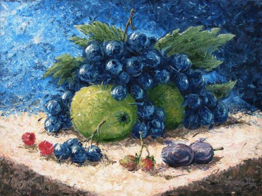 Yuri Vladimirovich Sizonenko. Black grapes.