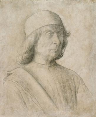 Gentile Bellini. Self-portrait