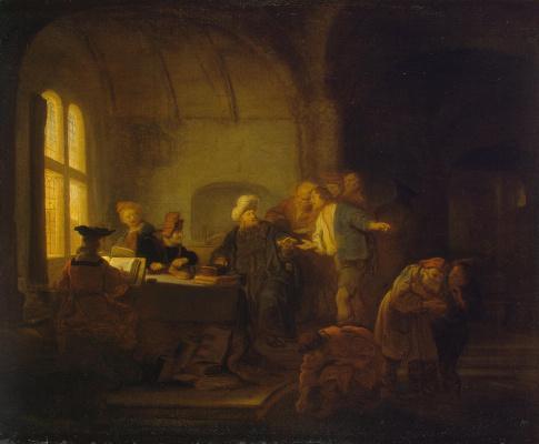 Притча о работниках на винограднике