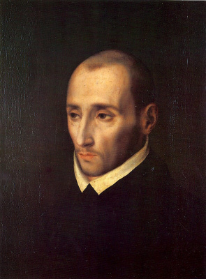 Луис де Моралес. Мужской портрет