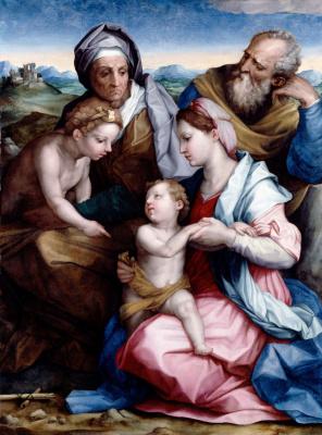 Андреа дель Сарто. Святое Семейство Медичи