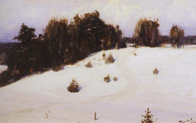 Vasily Dmitrievich Polenov. Winter