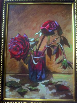 Olga Suncheleeva. Red roses