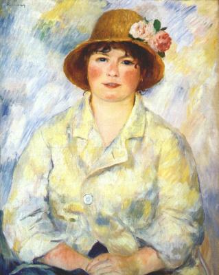 Pierre-Auguste Renoir. Portrait Alina Chariho