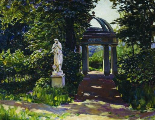 Apollinarius Mikhailovich Vasnetsov. The rotunda of Milovida in Najdenovski Park