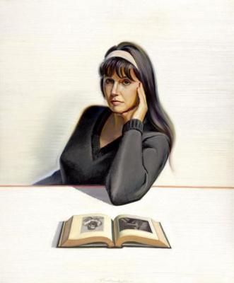 Уэйн Тибо. Бети-Джейн Тибо с книгой