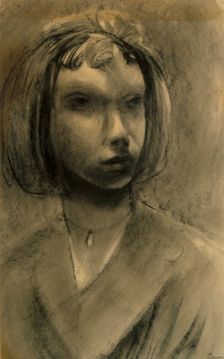 Tove Jansson. Self-portrait
