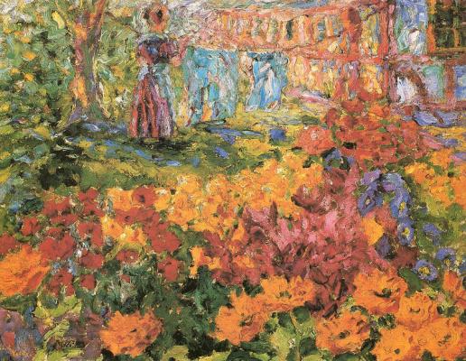 Эмиль Нольде. В саду