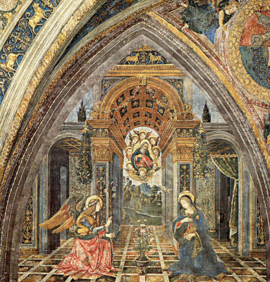 Pinturicchio. The Annunciation Of The Virgin