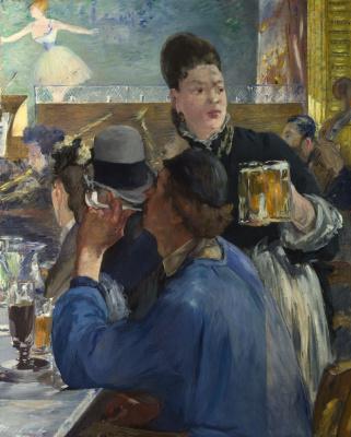 Edouard Manet. Corner café