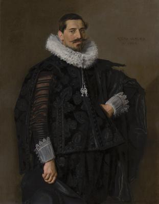 Frans Hals. Portrait of Jacob Peters Olikan