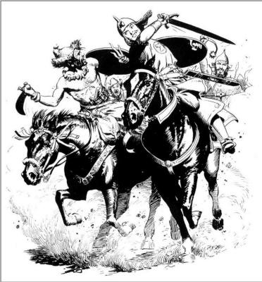 Frank Frazetta. Riders