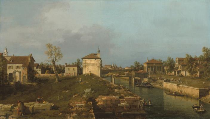 Giovanni Antonio Canal (Canaletto). Padua