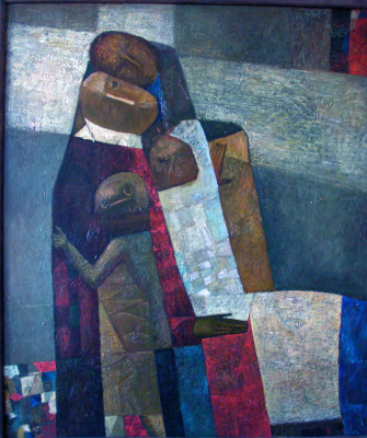 Yuri Lavrentiev. Cross