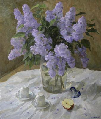 Lena Palenko. Lilac